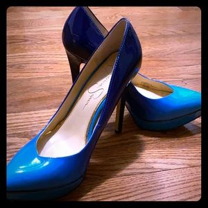 Ombré Jessica Simpson Heels